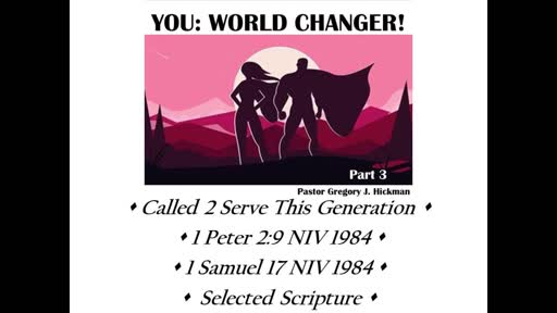 Called To Serve This Generation