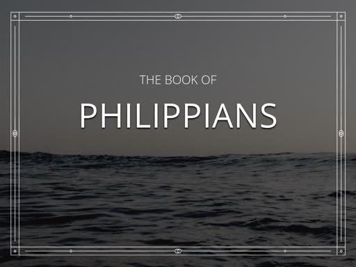 """Philippians Chapter 1 """"The Stirring of God"""""""