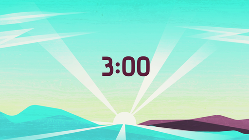 Sun Rays - Countdown 3 min