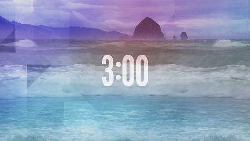 Prismatic Ocean - Countdown 3 min