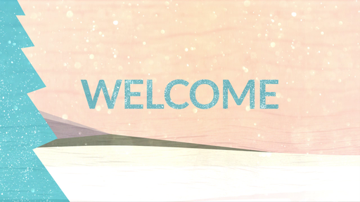 Snowy Trees  - Welcome