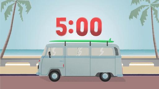 The Boardwalk - Countdown 5 min