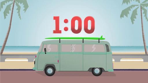 The Boardwalk - Countdown 1 min