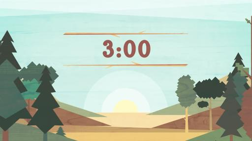 Timberline - Countdown 3 min