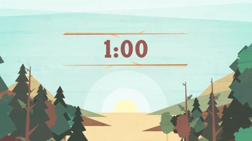 Timberline - Countdown 1 min