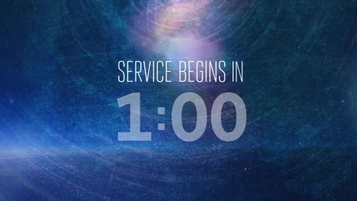 Nebula - Countdown 1 min