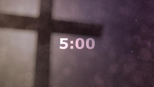 Abstract Cross - Countdown 5 min