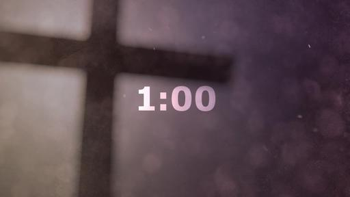 Abstract Cross - Countdown 1 min