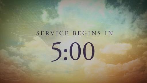 Easter: Sunrise - Countdown 5 min