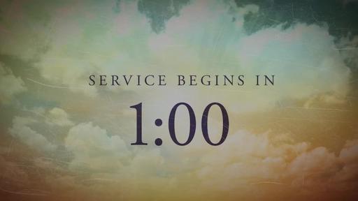 Easter: Sunrise - Countdown 1 min