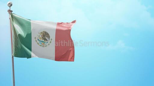 ¡Feliz Día de la Independencia! Flag