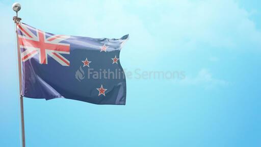 Happy Waitangi Day Flag
