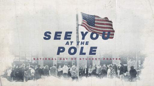 See You At The Pole - Flag