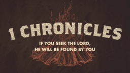 1 Chronicles  PowerPoint Photoshop image 1