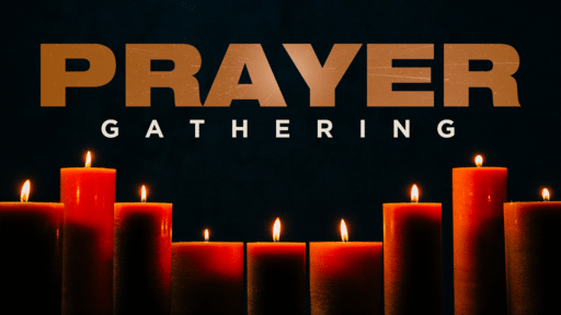 Prayer Gathering Candle