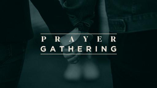 Prayer Gathering Blue