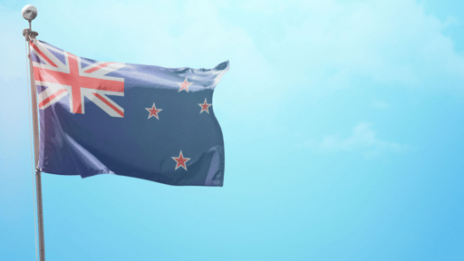Happy Waitangi Day Flag