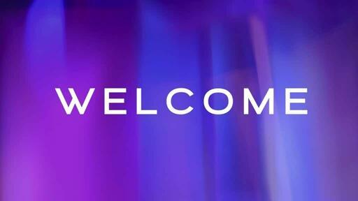 Purple Blur - Welcome