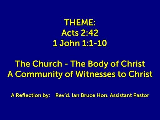 July 03 2019 | St Matts | Wednesday 10.30 | HC