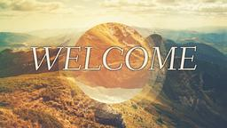 Invisible God welcome PowerPoint Photoshop image