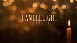 Candlelight Service PowerPoint Photoshop image