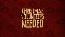 Christmas Volunteers Needed  PowerPoint Photoshop image 1