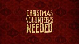 Christmas Volunteers Needed PowerPoint Photoshop image