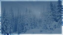 Winter Forest sermon title PowerPoint Photoshop image
