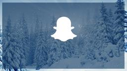 Winter Forest snapchat PowerPoint Photoshop image