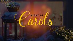 Night of Carols PowerPoint Photoshop image