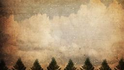 Vintage Christmas Trees content b PowerPoint Photoshop image