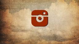 Vintage Christmas Trees instagram PowerPoint Photoshop image