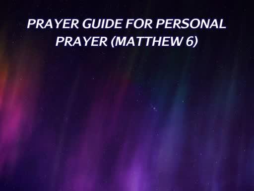 2019 Prayer Focus Wednesday