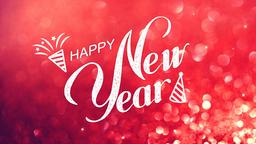 New Year still image PowerPoint Photoshop image