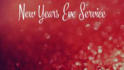 New Year announcement PowerPoint Photoshop image