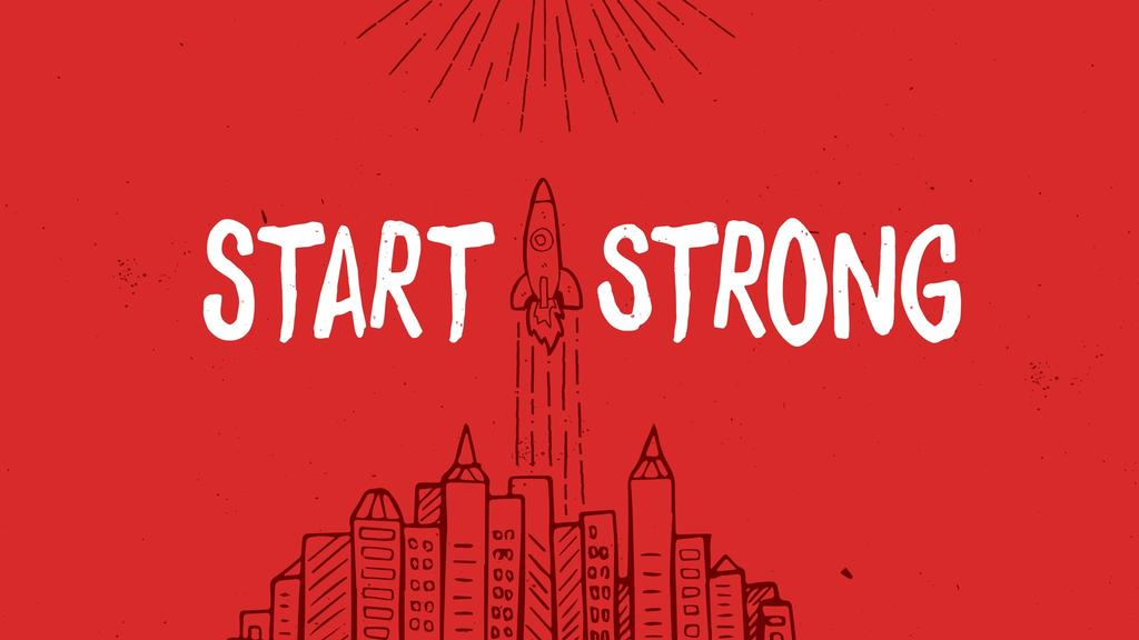 Start Strong large preview