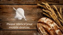 Wheat and Bread phones PowerPoint Photoshop image