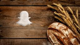 Wheat and Bread snapchat PowerPoint Photoshop image