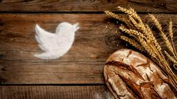 Wheat and Bread twitter PowerPoint Photoshop image