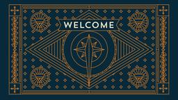 Advent welcome PowerPoint Photoshop image