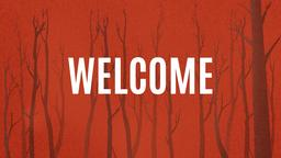 Silhouette Forest welcome PowerPoint Photoshop image
