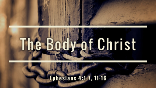 26 The Body of Christ (06-30-19)