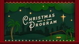 Christmas Program PowerPoint Photoshop image
