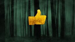 Dark Woods facebook PowerPoint Photoshop image