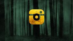 Dark Woods instagram PowerPoint Photoshop image