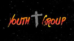 Colorful Grunge youth group PowerPoint Photoshop image