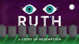Purple Tombstones ruth story of redemption PowerPoint Photoshop image