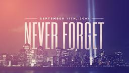 Retro Cityscape never forget september 11th PowerPoint Photoshop image