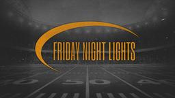 Grayscale Football Field friday night lights PowerPoint Photoshop image