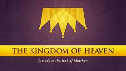 Gold Crown the kingdom of heaven PowerPoint image